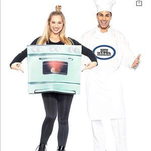 Couples Bun in the Oven Costume